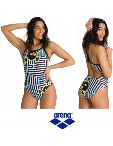 Arena Swimsuit Woman Crazy Labyrinth
