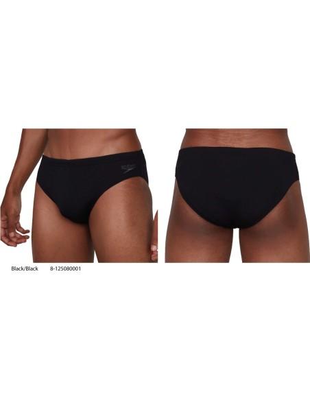 Black/Black - Speedo Essential + 7cm Brief