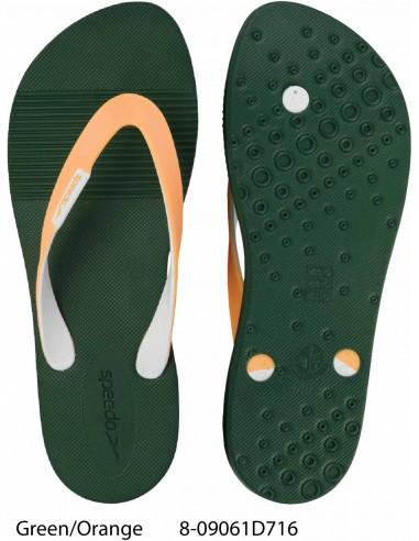 Green/Orange - Speedo Saturate Thong Flip Flop