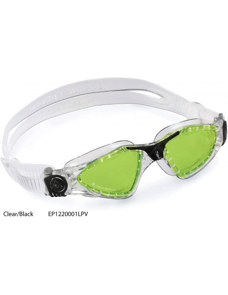 Clear/Black - Kayenne Polarized Aqua Sphere