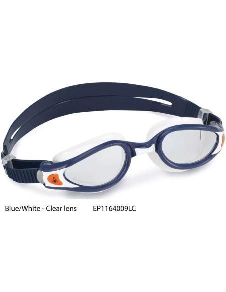 Blue/White, Clear lens - Kaiman EXO Aqua Sphere - Collezione 2020