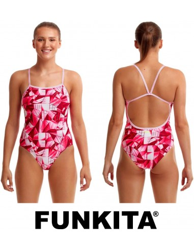 Funkita Pink Pane One Piece