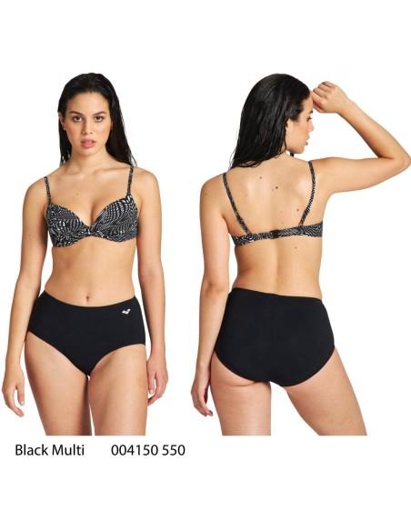Arena Clara Bikini - Black Multi