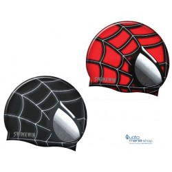 Cuffia in silicone Spiderman swimXwin