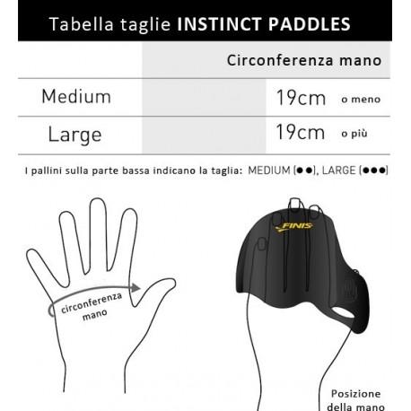 Paletta sensibilizzante Instinct Paddle Finis