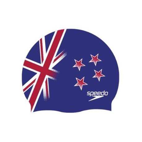 National Flag Silicone Cap Speedo