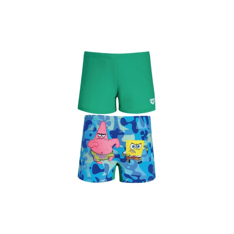 B sponge jr shorts arena for Costumi jaked bambina