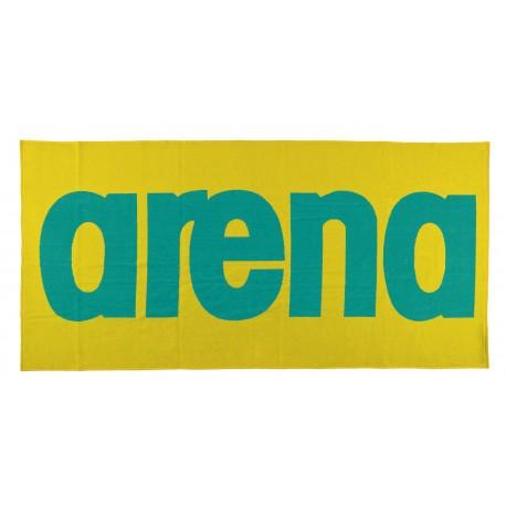Towel Logo Arena - Yellow Star, Bali Green,