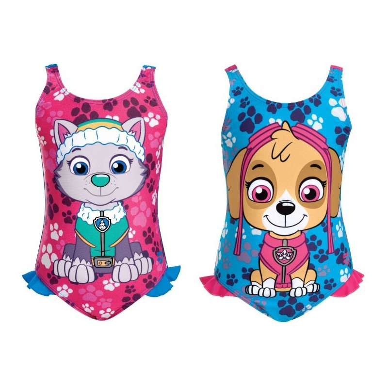 Kg paw patrol one piece arena for Decathlon costumi piscina bambina