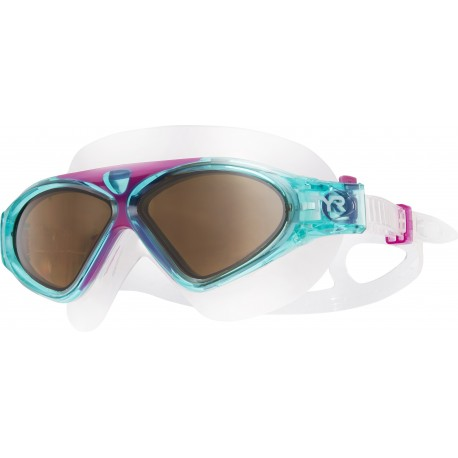 Magna Swim Mask Polarized Tyr - Purple/Mint