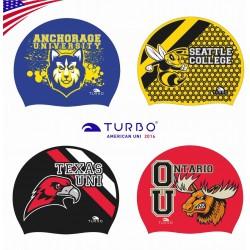 Cuffia per il nuoto Turbo America University collezione 2016