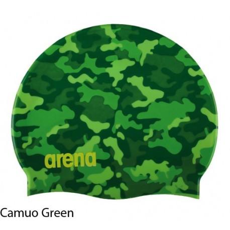 Camuo Green - Print 2 Camuo Cap ARENA