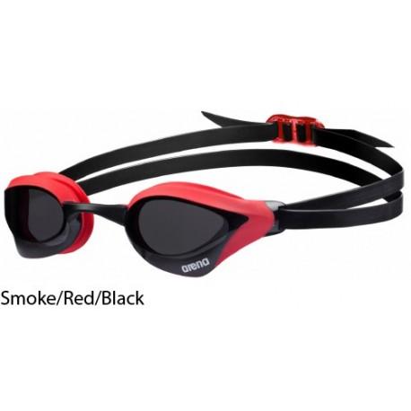 Smoke Red - Occhialini nuoto Cobra Core Arena