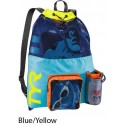 Blue/Yellow - Big Mesh Mummy Bag Tyr