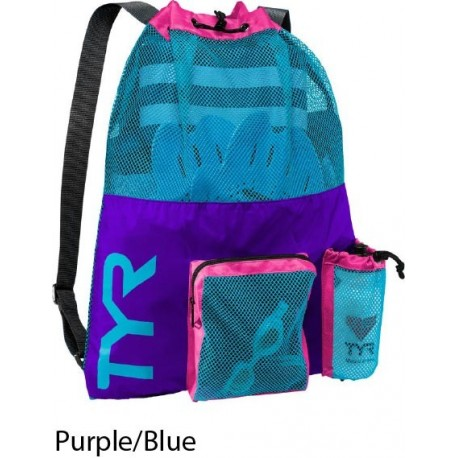 Purple/Blue - Big Mesh Mummy Bag Tyr