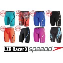 Red/Black - Fastskin LZR Racer X Jammer Speedo