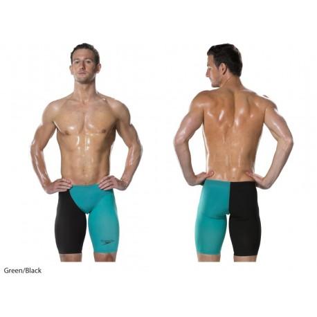 Costume olimpionico Nero-Blu Speedo Men's Fastskin LZR RACER ELITE 2 Abbigliamento e accessori Uomo: abbigliamento