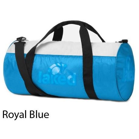 Royal Blue - Sacca sportiva con zip IDRO Jaked
