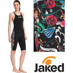 JKeel Knee Suit Open Back Jaked - edizione limitata Rock and Roll