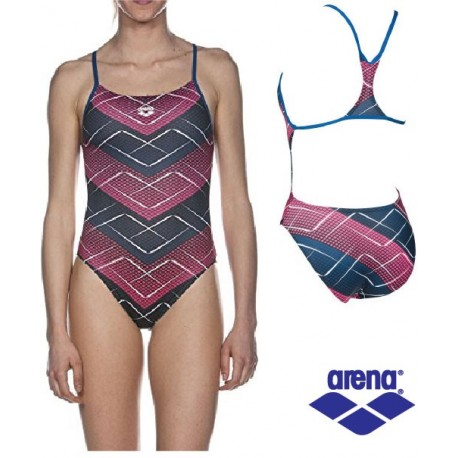 Costume Intero Donna Roskilde Booster Back Arena