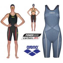Powerskin Carbon-Ultra full body short leg open back Arena