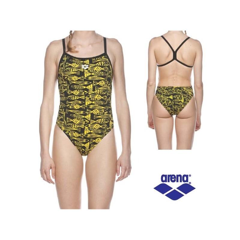 Donna fisk arena costume nuoto intero donna for Arena costumi piscina