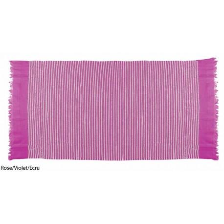 Rose/Violet/Ecru - Fouta Towel Arena