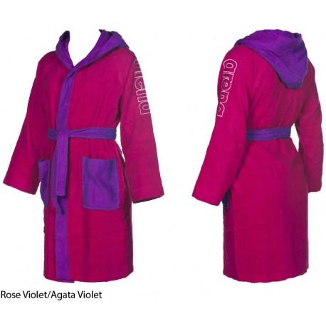 Rose Violet/Agata Violet - Accappatoio ZEBU Arena