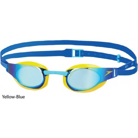 Yellow/Blue - Fastskin 3 Elite Specchiati Speedo