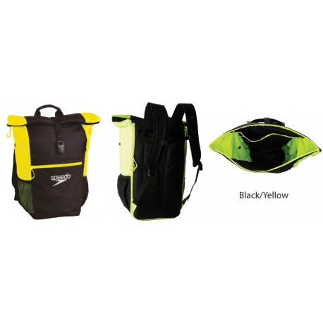Balck/Yellow - Team Rucksack III Plus AU Speedo