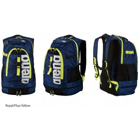 Royal/Fluo Yellow - Zaino Arena Fastpack 2.1