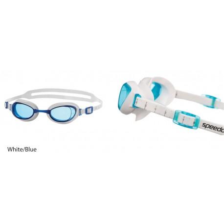 White/Blue - Aquapure Female Speedo