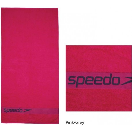Pink/Grey - Border Towel Speedo