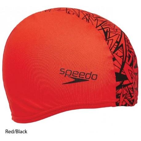 Red/Black - Monogram Boom End+ Cap Speedo