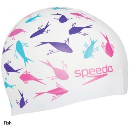 Fish - Cuffia Slogan Print Speedo - 2017