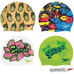 Junior Slogan Print Cap Speedo