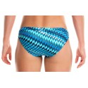 Back - Funkita Racerback Two Piece Static Blur