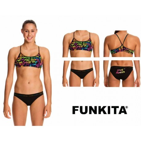 Front - Funkita Racerback Two Piece Love