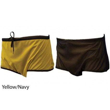 Cotume nuoto frenato FINIS - yellow/navy