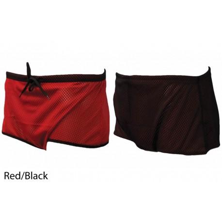 Cotume nuoto frenato FINIS - rosso/nero