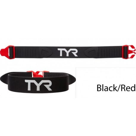 black/red - TYR Rally Training Strap
