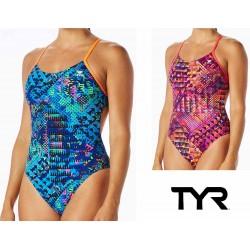 Machu Cutoutfit costume nuoto donna TYR