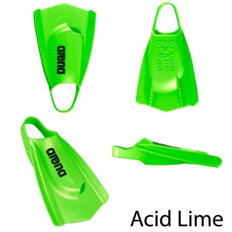 verde acido - mezze pinne allenamento Powerfin PRO Arena