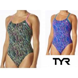 Costume intero donna Electro Cutoutfit TYR