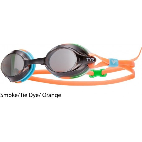 Smoke/Tie Dye/Orange - Velocity Goggles TYR
