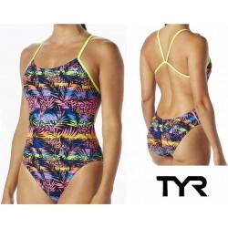 Sumatra Cutoutfit costume nuoto donna TYR