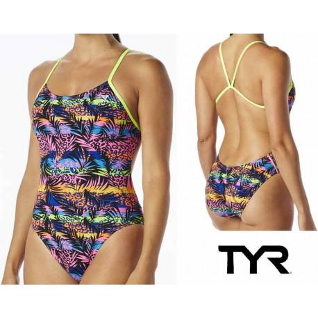 Women's Sumatra Cutoutfit Tyr Swimsuit