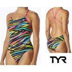 Ravana Cutoutfit costume nuoto donna TYR