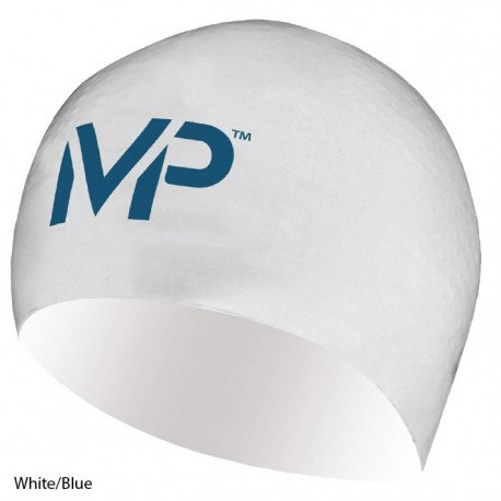 White/Blue - Cuffia da gara MP - Michael Phelps