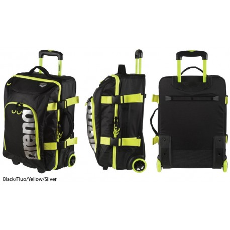 Black/Fluo Yellow/Silver - Fast Trolley Arena